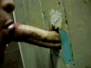 Suck that Gloryhole cock dry! xx