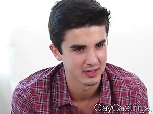 HD - GayCastings Amateur guy shy first fuck