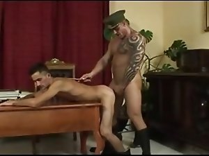 Trained to Obey - muscle military drill