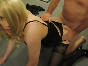 Lucy gets fucked on all fours