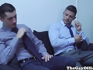 Free gay sex tube office